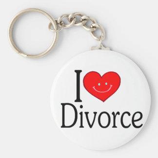 I Love Divorce Key Chains