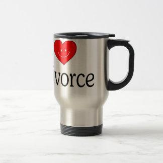 I Love Divorce Travel Mug