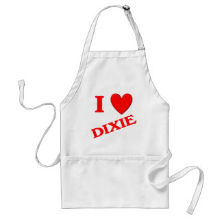 I Love Dixie Adult Apron