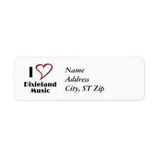 I Love Dixieland Music Label