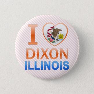 I Love Dixon, IL Pinback Button