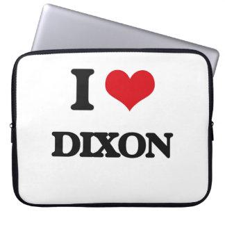 I Love Dixon Laptop Computer Sleeve