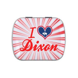 I Love Dixon, Wyoming Jelly Belly Tin