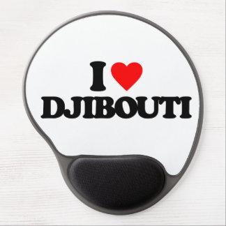 I LOVE DJIBOUTI GEL MOUSEPADS