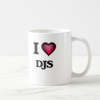 I love DJs Coffee Mug