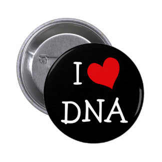 I Love DNA Pinback Button