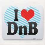 I Love DnB Mouse Pad
