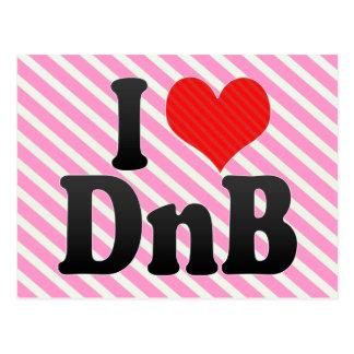 I Love DnB Postcard
