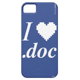 I Love .DOC iPhone SE/5/5s Case