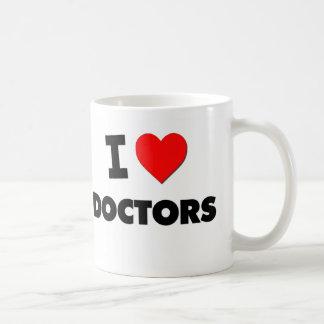 I Love Doctors Classic White Coffee Mug