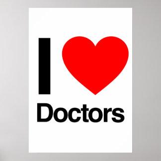 i love doctors print