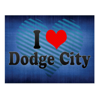 I Love Dodge City, United States Postcard