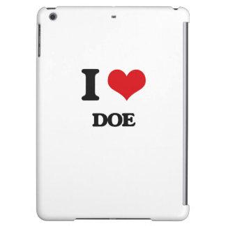 I love Doe iPad Air Covers