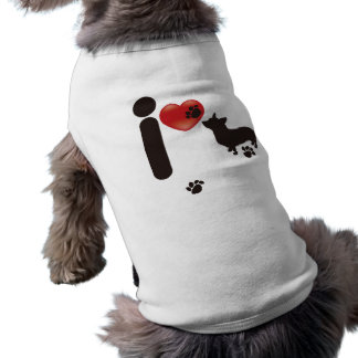 I LOVE DOG PET CLOTHING