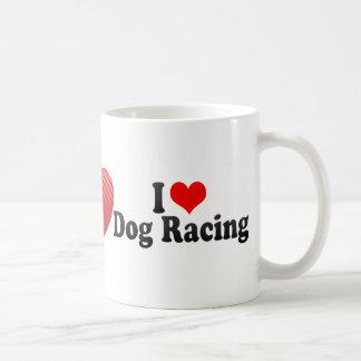 I Love Dog Racing Mug