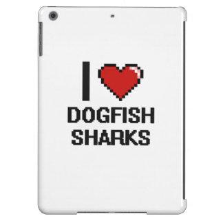 I love Dogfish Sharks Digital Design iPad Air Covers