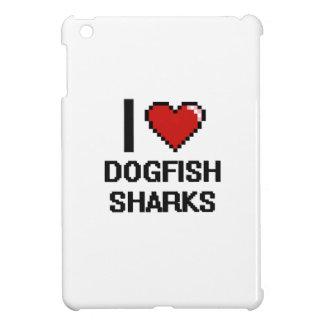 I love Dogfish Sharks Digital Design iPad Mini Cases