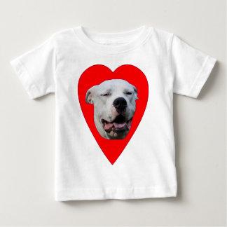 I Love Dogo Argentinos Baby T-Shirt