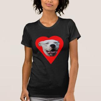 I Love Dogo Argentinos Tee Shirts