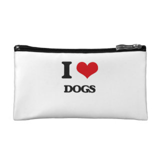 I love Dogs Cosmetics Bags