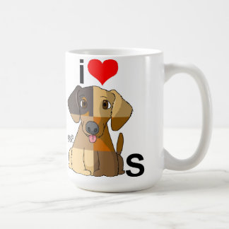 I Love Dogs Coffee Mug