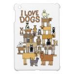 I LOVE DOGS COVER FOR THE iPad MINI