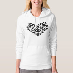 I Love Dogs Hoodie at Zazzle