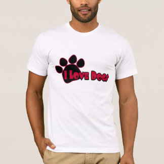 I Love Dogs Men's Shirt