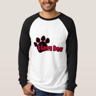 I Love Dogs Men's Shirt