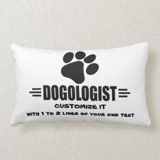 I LOVE Dogs Throw Pillows