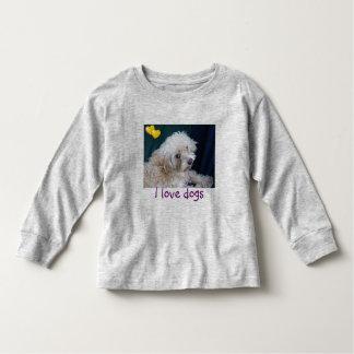 I Love dogs Pineapple cutie kids t shirt