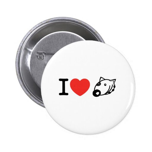 I love dogs pins