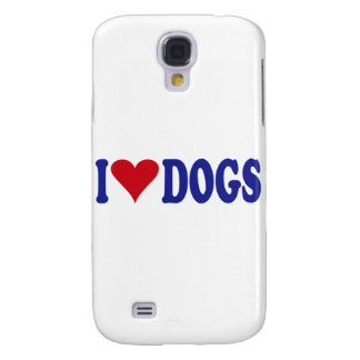 I Love Dogs Samsung Galaxy S4 Case