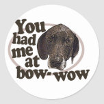 I love Dogs Stickers