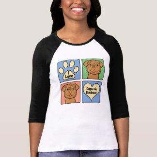 I Love Dogue de Bordeaux Camiseta