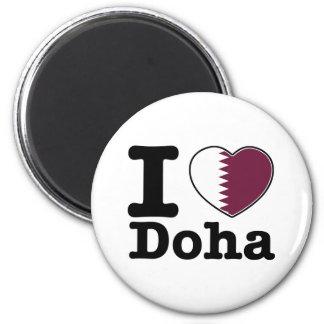 I love Doha Magnet