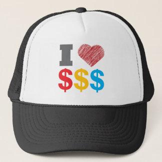 I Love Dollars Hat