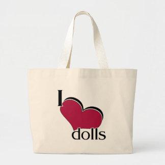 I Love Dolls Bag
