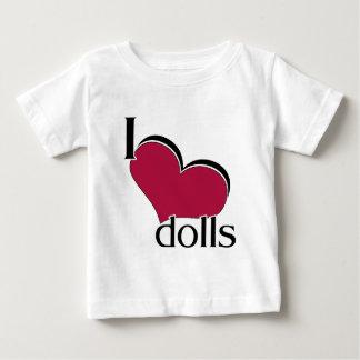 I Love Dolls Tees