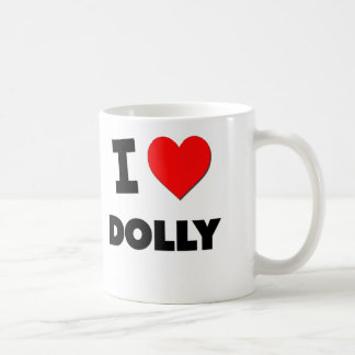 I Love Dolly Coffee Mug