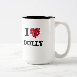 I love Dolly Two-Tone Coffee Mug