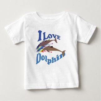 I Love Dolphin Baby T-Shirt