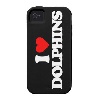 I LOVE DOLPHINS iPhone 4/4S COVER