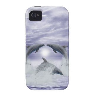 I love dolphins vibe iPhone 4 cover