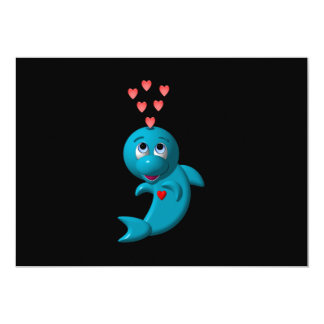 I love dolphins - I love you Card