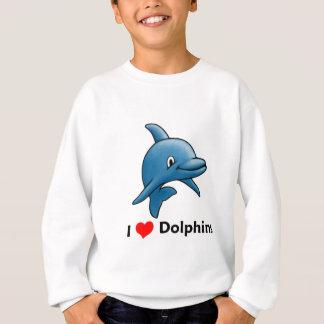 I love Dolphins Sweatshirt