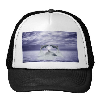 I love dolphins trucker hat