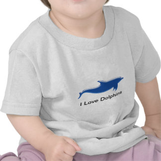 I Love Dolphins T Shirts