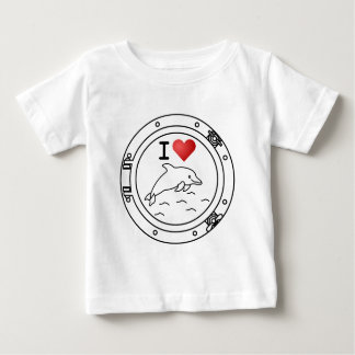 I Love Dolphins T-shirts