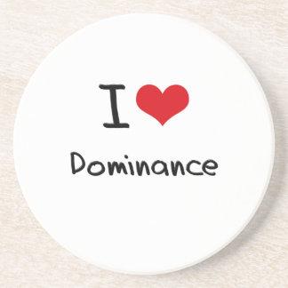 I Love Dominance Coaster